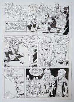 16 Original Plates Erotic Comics Full Elvifrance Italy Around 1980