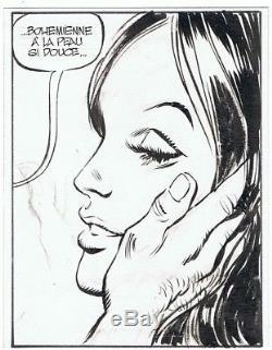 Alexis-gotlib Original Drawing Inédit Cinémastock (pilote 1974)