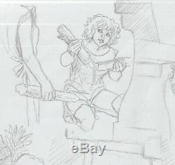 Aria-weyland- Original Pencil Sketch Drawing Board T. 33 P. No. 16-dedication