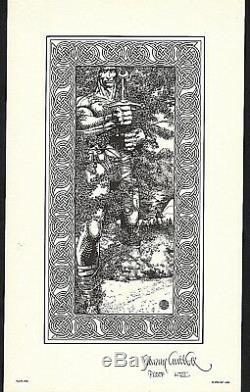 Barry Windsor-smith Portfolio Fantastic Islands Numbered And Signed 1978. Cn / Nine