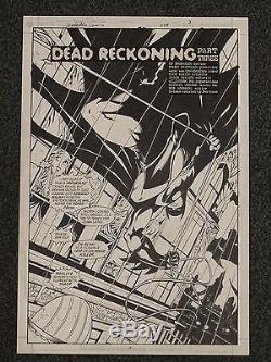 Batman Detective Comics Tommy Castillo Original Board