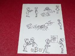 Bd Drawing Strido Humor Press / Board Original Photographer Bd 33x25 1960