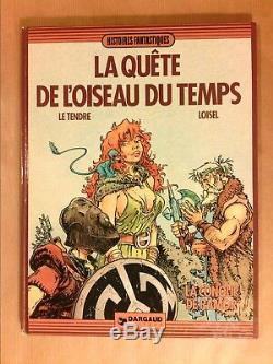Bd In Eo 1982 / The Quest Of The Bird Of Time T 1 / With Drawing Sign Of Loisel