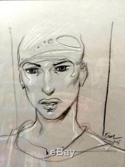 Bilal Original Drawing Animal'z Portrait Ana