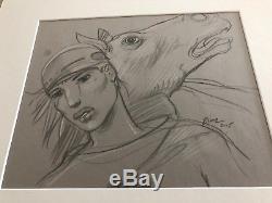 Bilal Original Drawing Animalz