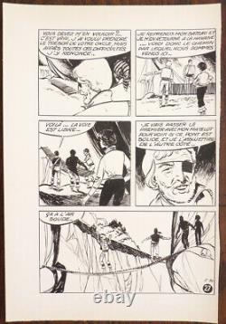 Capitaine Tornade 30 Original Plates By Claude Henri Juillard 1966