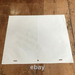 Contemporary Drawing N51 Original Plank The Simpsons Homer Simpson