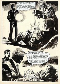Coplan Ambush At Crepuscule (huescar Drawings) Original Plank Page 114