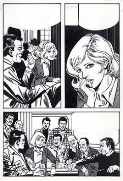 Coplan Embuscade (drawings Jullian) Original Board Inedite Aredit Page 148