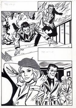 Coplan Embuscade (drawings Jullian) Original Board Inedite Aredit Page 63