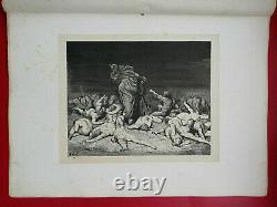 Dante's Enfer Alighieri Drawings By Gustave Dore 1865 L. Hachette Planche No.20