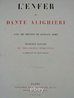 Dante's Enfer Alighieri Drawings By Gustave Dore 1865 L. Hachette Planche No.69