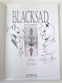 Dedication Guarnido + Blacksad Canal T. 2 E. O + Stamp Nation N ° / S + Mp