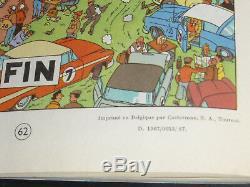 Dedication Hergé Rare Tintin Coke In Stock Original Drawing Milou 1958-67 Eo Pa Coa