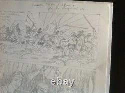 Didier Madaba June 2004 Original Drawing Planche