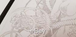 Drawing Board Witchblade Original Ediano Silva Studio Ed Benes Michael Turner