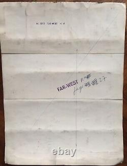 Drawing Original Plank Far West Humour Ink By Marijac (1909-1994) M2