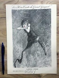 Elsen 4 Unpublished Boards Lithography Hors Texte Du Grand Guignol 1927