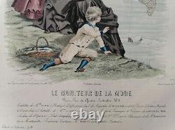 Engraving Monitor The Jules David Fashion Drawing Board 1883 37