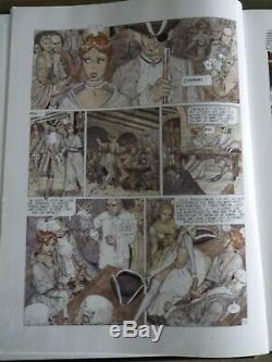 Erich Von Gotha Janice Original Comic Drawing Board Published Erotic Rare
