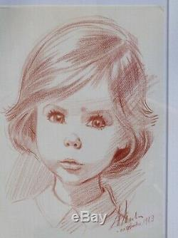 Exceptional Marlier, Martinne / Original Drawing