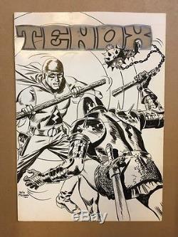 Félix Molinari Cover Original Signed For Tenax Tbe