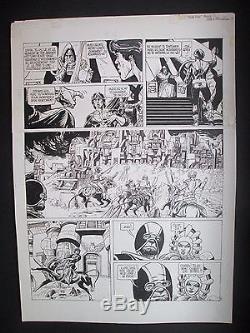 Franz Duchateau Original Board Jason Drum 1979 Ink From China Tbe