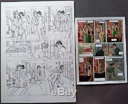 Gibrat Original Page Pinocchia + Coloring