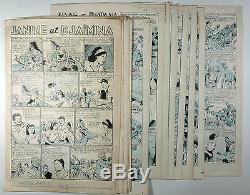 Giffey René 24 Original Boards Janine And Djaïmina Complete Story Tbe