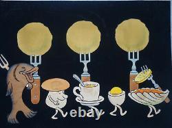 Hans Fischerkosen (1896-1973) Original Plank (films Ufa) Germany