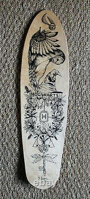Harry Potter-themed Wooden Skate Board