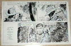 Hugo Pratt, Original Sheet For Ernie Pike