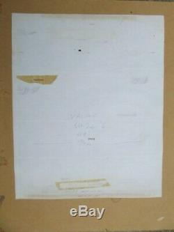 Janus Stark Original Board Francisco Solano Lopez 1972 Valiant My Diary