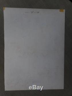 Jean-yves Mitton Mikros Superb Original Board Titans 35 Page 48 + Layer