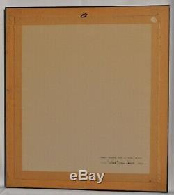 Jehan Testevuide (1873-1922) Original Drawing Board Dated 1895