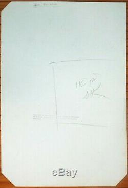 John Buscema Original Sheet Of Conan The Barbarian Marvel 1984