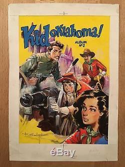 Kid Oklahoma Original Cover Batet Tbe