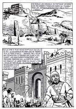 L'envers Du Masque (dessins Asras) Superb Planche Originale Eclipso Page 49