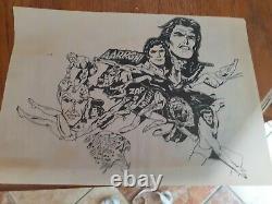 Layer Drawing Board Tarzan Comics Original Single