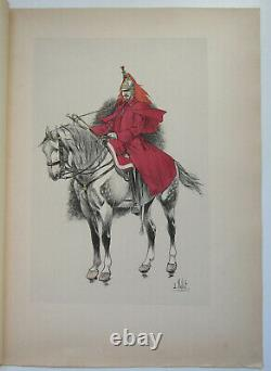 Le Chic A Cheval L Vallet 1891 Trompette Cuirassiers Imperial Board 33 X 25