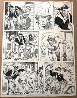 Manara Plank Original Four Fingers Paper Man 4862cm Rare Page 37