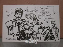 Mezieres Plate Drawing Original Valerian