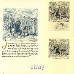 Miomandre Grau Sala Written On Water N°3/20 Original Drawing Board Refused