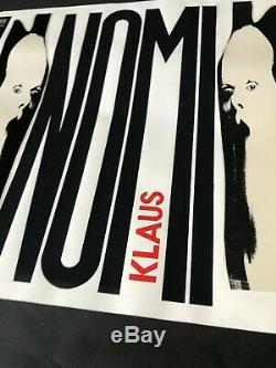 Model. Drawing Original Plate Disk Klaus Nomi. Great Rarity