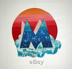 Moebius Original Project For The Logo Of The Masters Of Time Time Masters