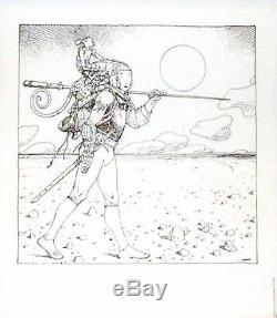 Moebius (jean Giraud Gir) Magnifique Serigraphie -1979- 100ex Signed / Num