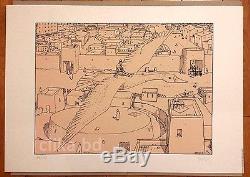 Moebius (jean Giraud Gir) Magnifique Serigraphy 1977 100ex Signed -rare State