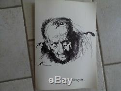 Moretti Boards Drawings Of Specimens For Original Malraux Ed