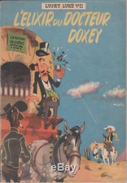 Morris The Elixir Of Dr. Doxey, Dedication, Original Drawing, Original Edition
