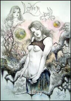 Nude Nude Drawing Original De Claude Marrache Curiosa Board Original Art